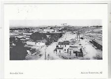 "+""Birds-Eye View of Tombstone""-Heyday-*Tombstone AZ (#31) ~Post Card~"