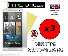 3x HQ MATTE ANTI GLARE SCREEN PROTECTOR COVER LCD FILM GUARD FOR HTC ONE MINI M4