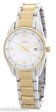 Fossil Womens Mother of Pearl Dial Two Tone Stainless Steel Watch BQ1479