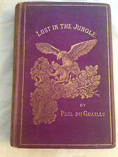 Paul Du Chaillu - Lost in the Jungle - 1st/1st 1870 - Original Cloth - Africa