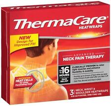 ThermaCare Heatwraps - Neck Wrist Shoulder 16 Hours - 3 Wraps