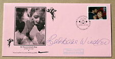 ST VALENTINE'S DAY 1996 CONCORDE FLOWN COVER SIGNED BY ACTRESS BARBARA WINDSOR