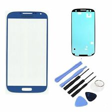 New replacement Blue Outer Screen Lens Glass for Samsung Galaxy S4 iV i9505