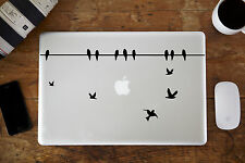 Aves en un alambre Decal Sticker Para Apple Macbook Pro Laptop de 13 ""