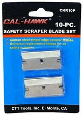 10 pc Utility Single Edge Safety Razor Scraper Box Cutter Blade