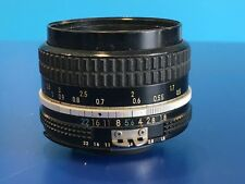 Nikon Nikkor 50mm f1.8 Lente de enfoque manual Prime Ai-s/n 1915876 - (#2)