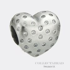 Authentic Pandora Sterling Silver Sparkle Of Love Bead 791241CZ *SPECIAL*