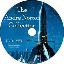 Andre Norton Sci-Fi Audio Book Collection on 1 MP3 DVD Alien Voodoo Free Ship