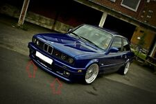 BMW 3 E30 M TECHNIC 2/M Tech 2 LOOK FRONT + REAR BUMPER SPOILER / LIP (4 piece)