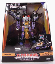 TRANSFORMERS War Within_SKYWARP Die Cast_TITANIUM Series_ComicCon 2008 Exclusive