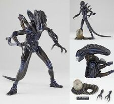 "HOT 7"" Revoltech Alien Warrior Action Figure Base Loose Model 1986 Old Movie Toy"