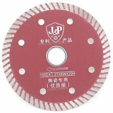 "4"" Turbo Rim Diamond Circular Saw Blades Wet or Dry Special Cutting Ceramic Tile"