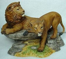 LENOX chnia WILDLIFE OF THE SEVEN CONTINENTS - Africa - LIONS