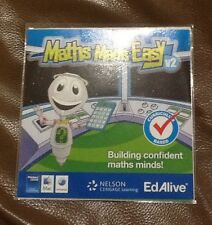 Maths Made Easy Ages 10-12 EdAlive Nelson Cengage Learning CD ROM Maths Tutor