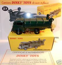 new DINKY ATLAS CAMION FORD BENNE A ORDURES REFUSE TRUCK 1/58 REF 25 V IN BOX