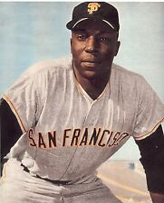 """SAN FRANCISCO GIANTS WILLIE McCOVEY CLASSIC PORTRAIT FULL COLOR """"STRETCH"""""""