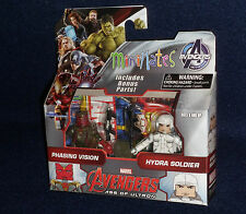 Marvel MiniMates Series 63 Age Ultron PHASING VISION & HYDRA SOLDIER Figure 2 PK
