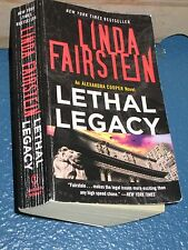 Lethal Legacy by Linda Fairstein *FREE SHIPPING* 9780307387783