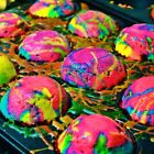 6 Colors Edible Food Paint Dye Sugarcraft Cake Muffin Icing Ice Cream SUGARPASTE