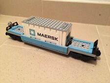 LEGO city treno 10219 - carro merci maersk con container (train)