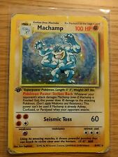 Machamp Holo Base Set Pokemon Card 8/102