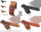PREMIUM Vintage Genuine Calf Leather Watch Band Strap 22mm 24mm For Panerai