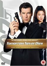 TOMORROW NEVER DIES DVD JAMES BOND 007 ULTIMATE EDITION Pierce Brosnan New UK