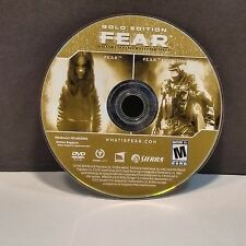 F.E.A.R.: First Encounter Assault Recon -- Gold (PC, 2007) DISC ONLY #7129