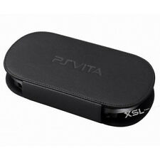 Officiel en cuir noir carry case, housse pour Sony Playstation PS Vita/PSP Vita
