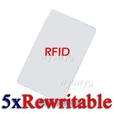 5pcs Writable Rewrite 125KHz EM RFID Card For Copier Writer Door Access control