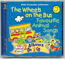 The Wheels on the Bus & Favourite Animal Songs BRAND NEW DIRECT FROM PUBLISHER