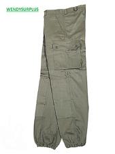 Pantalon de treillis F2 kaki de l'armée française NEUF en taille 72-76-84