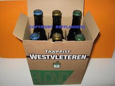 GIFT BOX WITH 6 BOTTLES WESTVLETEREN 2x12 + 2x8 + 2x6 - FREE SHIPPING