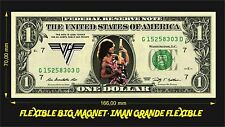 VAN HALEN IMAN BILLETE 1 DOLLAR BILL MAGNET