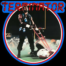 80's Giants Classic Lawrence Taylor The Terminator Poster Art custom tee AnySize