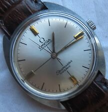 Omega Cosmic automatic mens wristwatch steel case 33,5 mm. in diameter