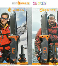 Set Of 2 Gerber Knives Bear Grylls Ultimate Survival Series 31-000751 &31-001063