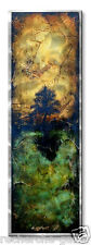 Metal Art Painting Modern Tree Artwork  Wall Sculpture by Brittney Hallowell
