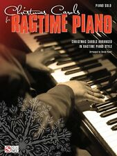 Christmas Carols for Ragtime Piano Sheet Music Piano Solo SongBook NEW 002501853