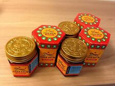 3X30g TIGER BALM (RED) MASSAGE OVER-THE-COUNTER&PAIN RELIEF herbal rub FREE SHIP
