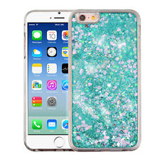 Bling Liquid Glitter Water Sparkly Stars Bling Case Cover For iPhone Samsung LG