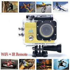 "Ultra IR Remote Wifi 4K Waterproof Sport Action Camera 2.0 "" HD 1080P DVR Camera"