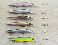 PAYO AEGIS Oneten + 1 ft DIVE Fishing Lure Crankbait 1/2 OZ 110 m Wagin Hasu