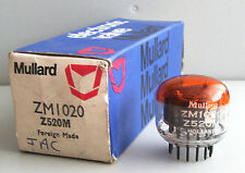 1 x Mullard ZM1020 / Z520M nixie tube, NIB, made in Holland