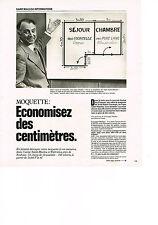 PUBLICITE  1978   SAINT- MACLOU    moquette  MR GONZAGUE MULLIEZ PDG