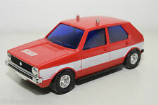 LUCKY HONG KONG 3169 VW VOLKSWAGEN GOLF BRANDWEER FIRE RED EXCELLENT CONDITION
