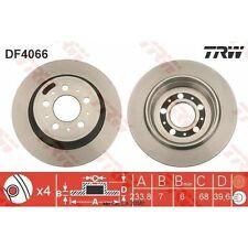 Bremsscheibe, 1 Stück TRW DF4066
