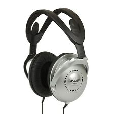 Koss UR18 Noise Isolating Adjustable Headband Collapsible Stereo Headphones