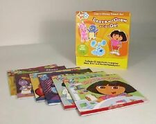 Learn and Grow on the Go! Nick JR boxed set of 6 Dora/Backyardigans/Blue's Clues