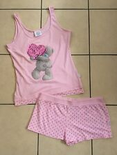 New Look Me To You Tatty Teddy Pink Pyjamas Size 14